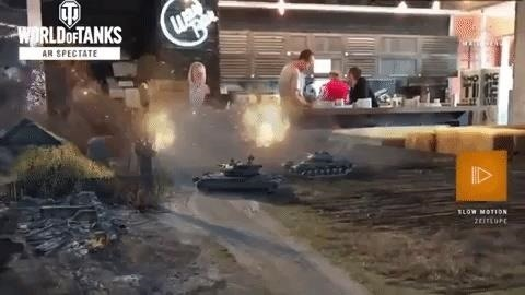World of Tanks App Lets You Relive Military Battles in Augmented Reality