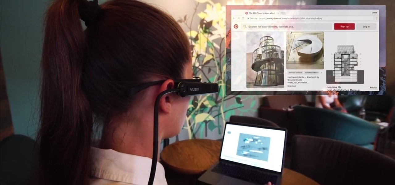 Vuzix M300 Smart Glasses Gains Mac and PC Screen Mirroring via iDisplay