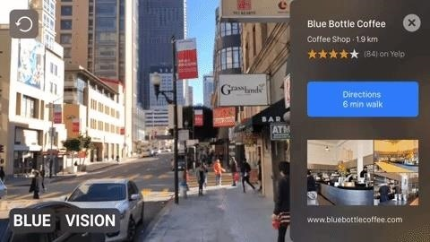 Google Leads $14.5 Million Funding Round for AR Cloud Startup Blue Vision