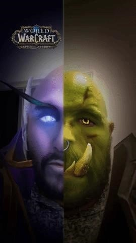 World of Warcraft Lens on Snapchat lets you turn into Orc or Elf & Fights in Augmented Reality