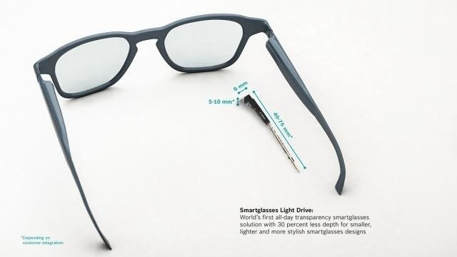 Bosch Designs Easy to Deploy Optical System for Smartglasses Makers