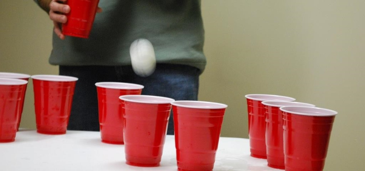 Play Beer Pong Anytime with Augmented Reality Game