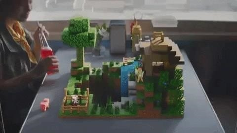 Microsoft turns Real World to Multiplayer Playground with Minecraft Earth Mobile AR Game