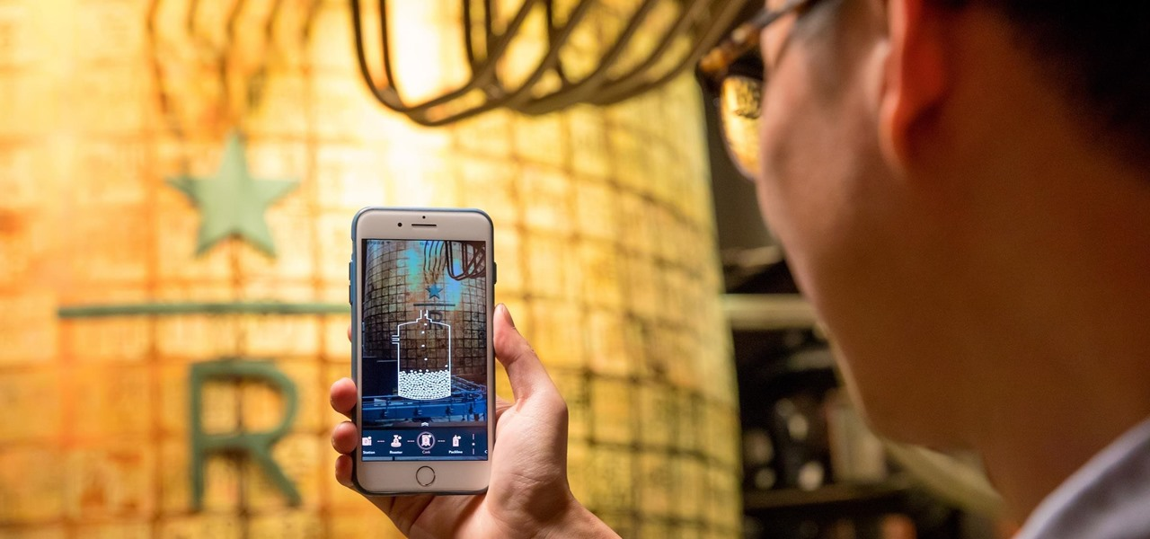 Starbucks Brews Up Augmented Reality App to Enhance Roastery Experience
