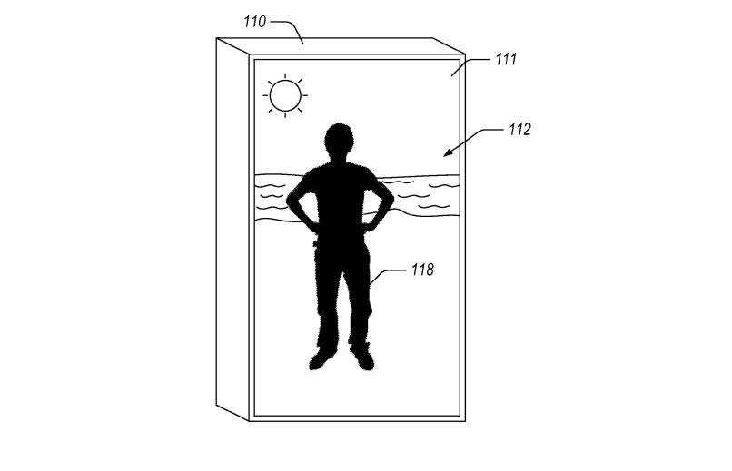 Augmented Reality Mirror Patent from Amazon Can Turn Fitting Rooms into Exotic Locales