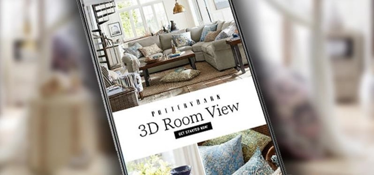 Design Your Dream Room With Pottery Barns New Augmented Reality - Room design app