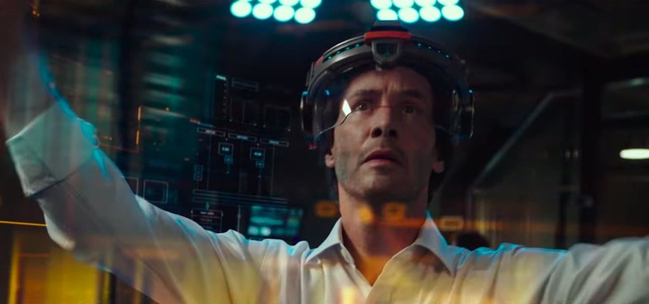 Keanu Reeves Does AR Kung Fu in New Sci-Fi Film That Uses HoloLens-Style Device to Make Humans Immortal