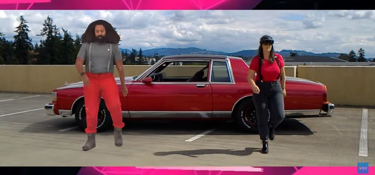 HoloLens & Actiongram Direct Reggie Watts Holograms for Mixed Reality Video