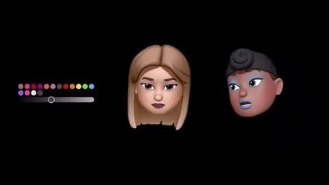 Apple's Third Generation of Animoji Adds Memoji Customization & Stickers to Messages