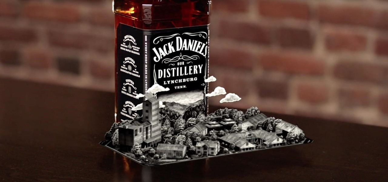Jack Daniel's Joins the Augmented Reality Marketing Fray with Interactive Label & App