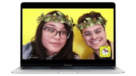 Valentine's Day Lenses for Snapchat & Snap Camera Crush in Augmented Reality