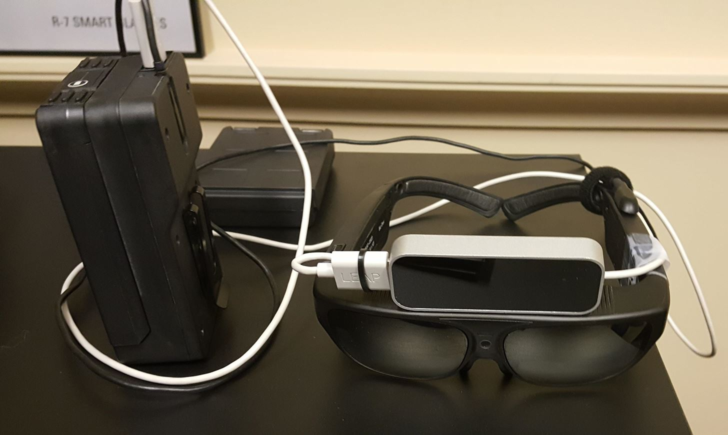 Hands-On with Osterhout Design Group's R-8 & R-9 Smartglasses