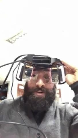 DIY Portable Computer Makes Leap Motion Project North Star Headset Somewhat Mobile