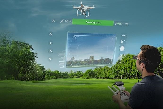 Edgybees Extend Drone Prix AR Game to Epson Moverio Smartglasses
