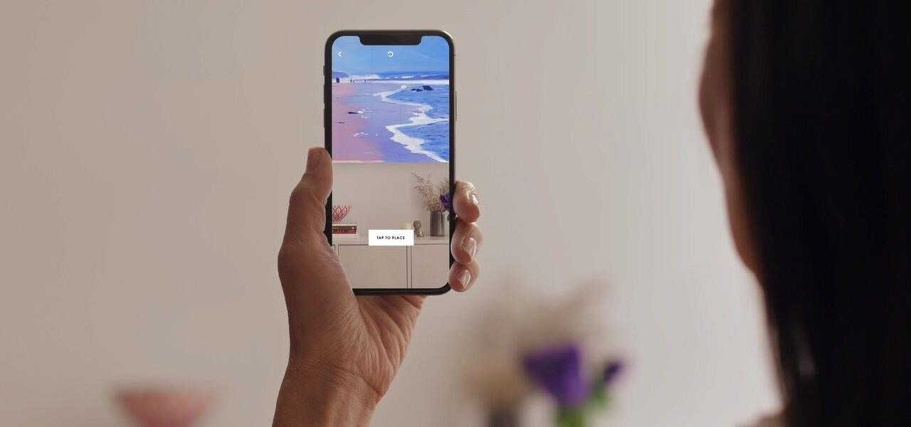 artsy claims crown as first app to take advantage of arkit s new
