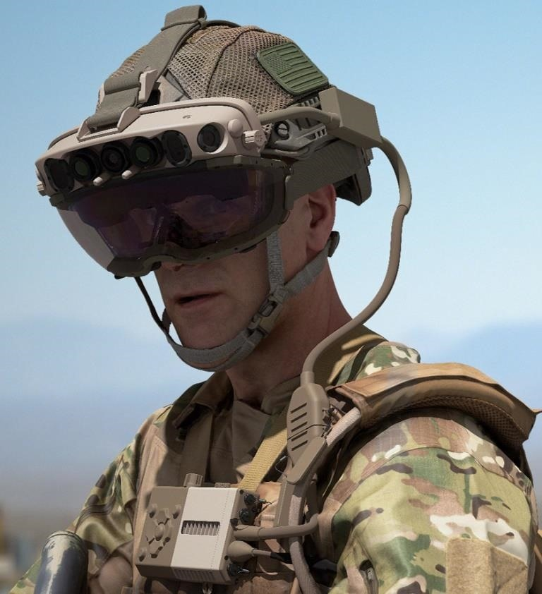 Microsoft Emerges from the Trenches with More Details Behind the Army Edition of HoloLens 2