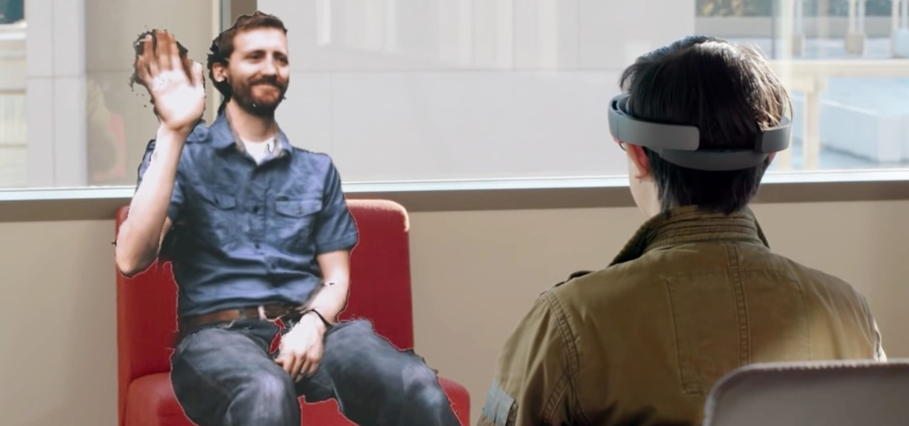Microsoft Research Shows Off Mobile Holoportation