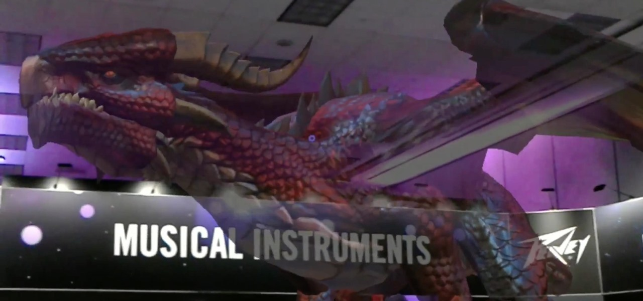 Peavey & Behringer Showed Off HoloLens at Winter NAMM Music Covention