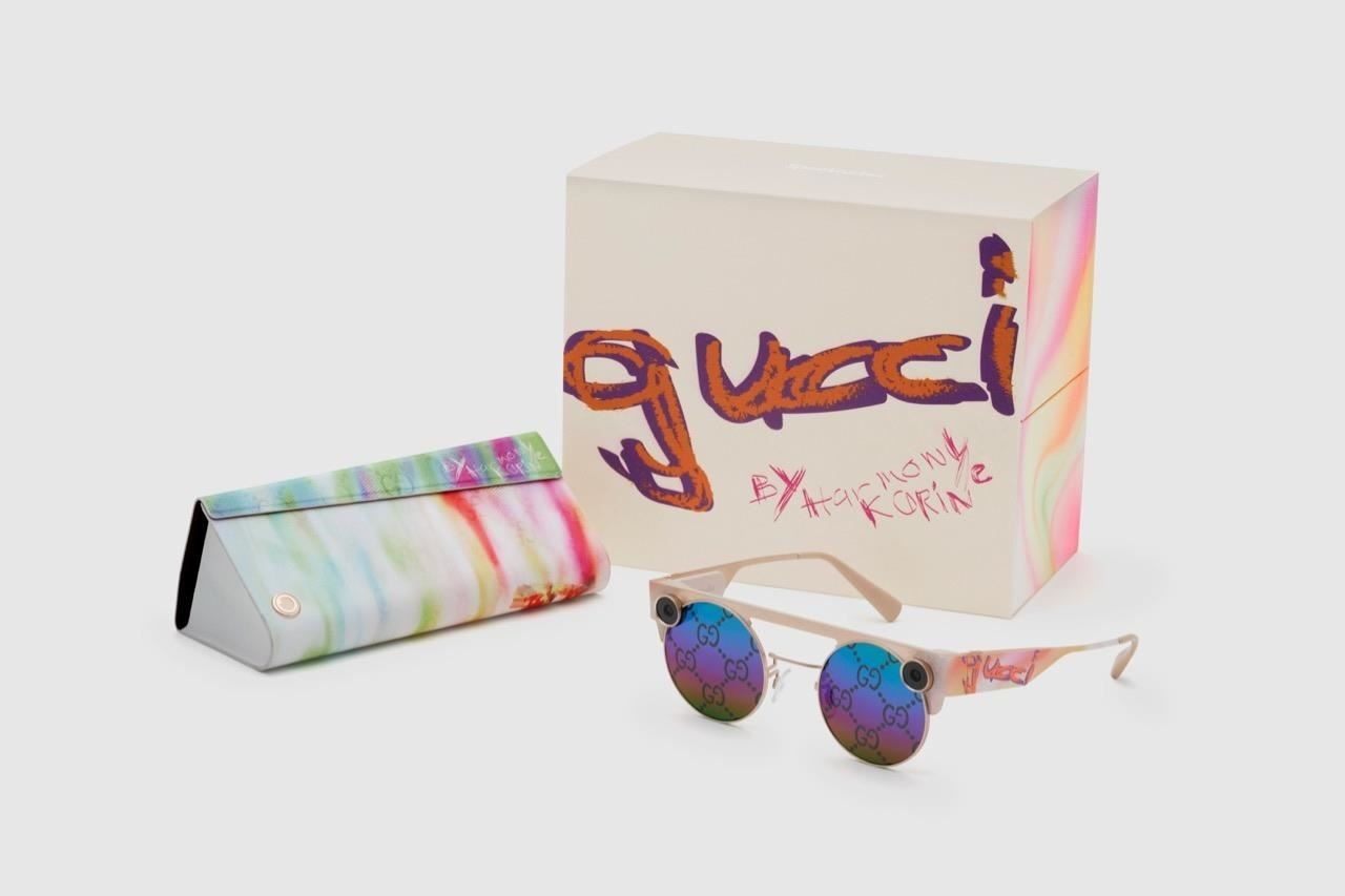 Snap Unveils Gucci Edition of Spectacles 3, Film Shot via Spectacles 3 by 'Kids' Director Harmony Korine