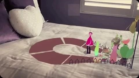 Wonderscope iPhone App Turns Bedrooms into Stages for Children's Stories in Augmented Reality