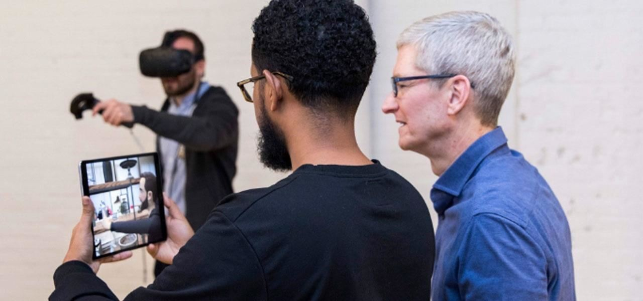 Apple AR: Tim Cook Makes Rare Animoji Appearance, Pushes AR Amid Slow iPhone X Sales Reports