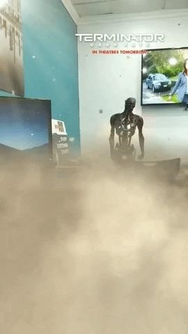 News: Terminator: Dark Destiny attacks Snapchat with two augmented reality camera effects