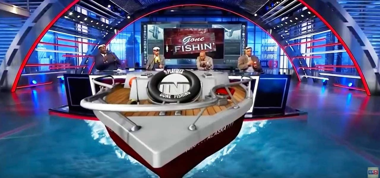 TNT's 'Inside the NBA' Takes Viewers for a Dip into Broadcast AR for the NBA Playoffs