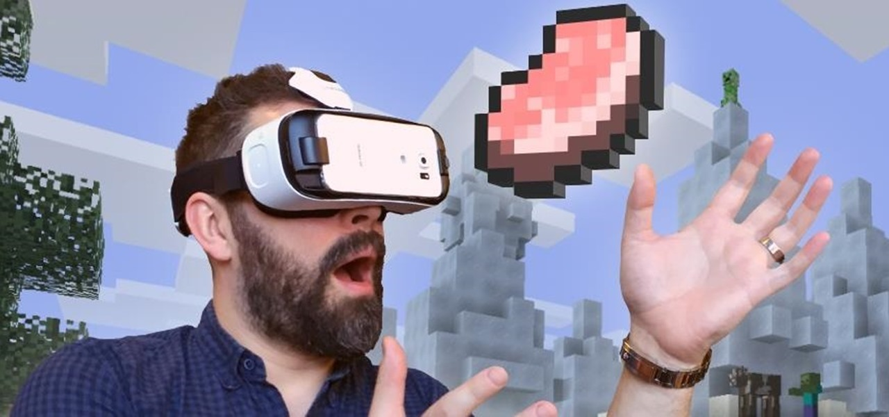 Oculus Releases Minecraft for the Samsung Gear VR