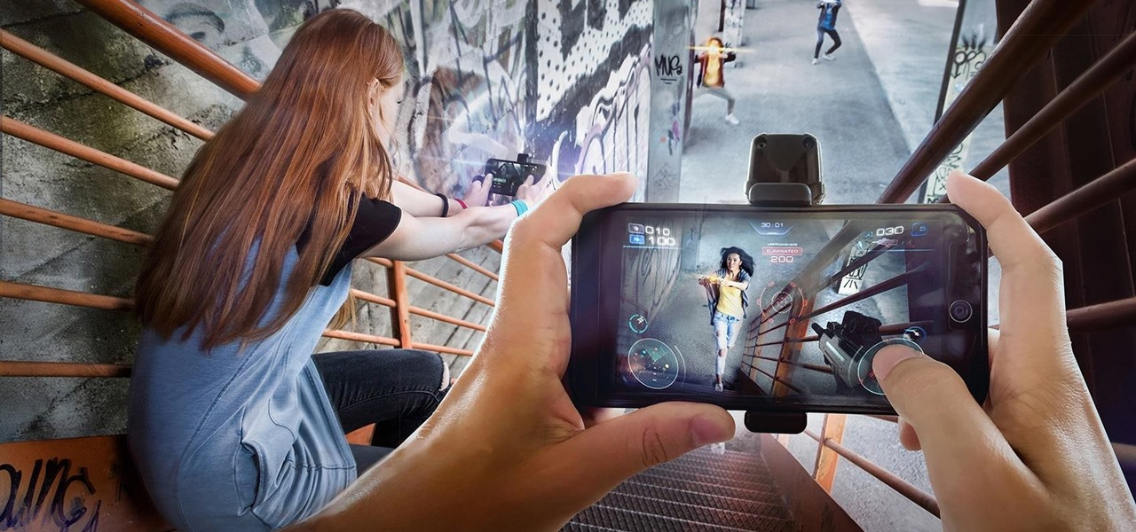 Father.IO Uses Your Smartphone to Turn the World into a Giant Augmented Reality Laser Tag Arena