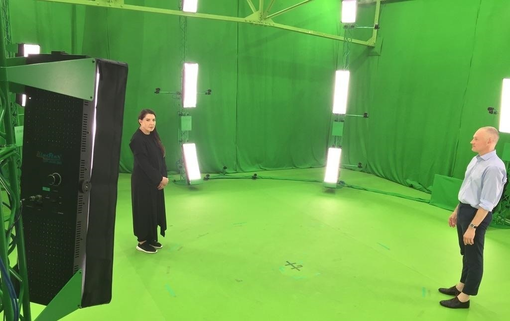 Marina Abramovic's Volumetric Art Piece Heads for Christie's Auction Block After Debut in Magic Leap