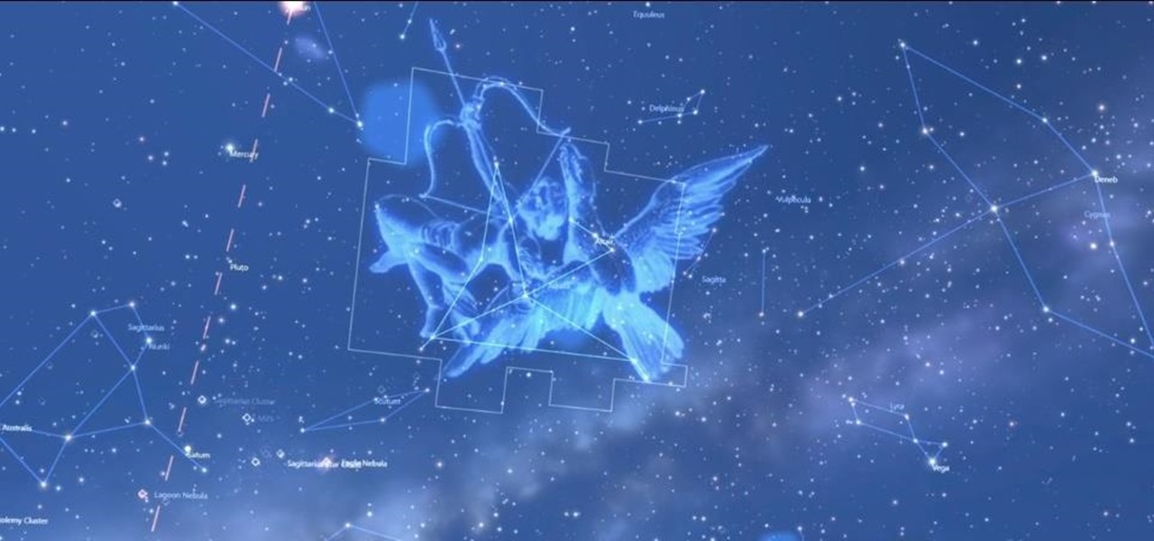 National Geographic's Open-Air Planetarium Displays Augmented Reality Constellations Through Aryzon Viewers