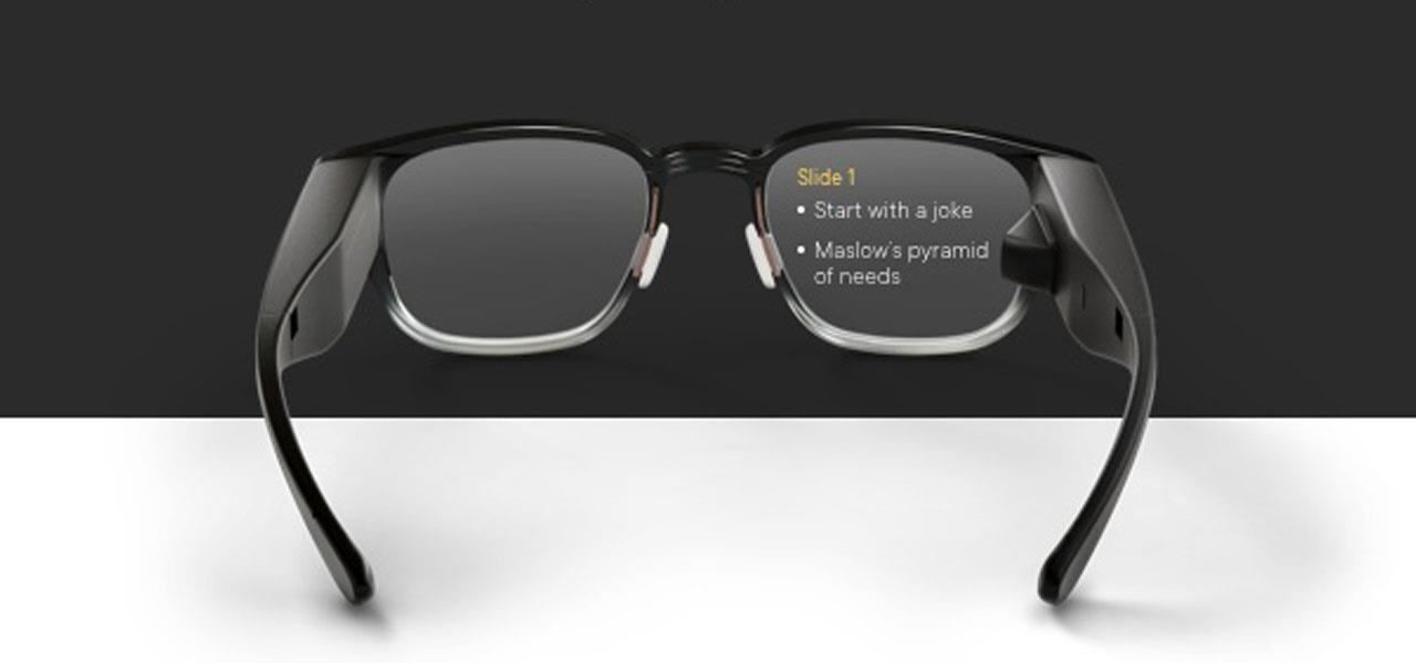 North Focals Smartglasses Update Adds Google Fit, Google Slides, & a Distraction-Free Mode