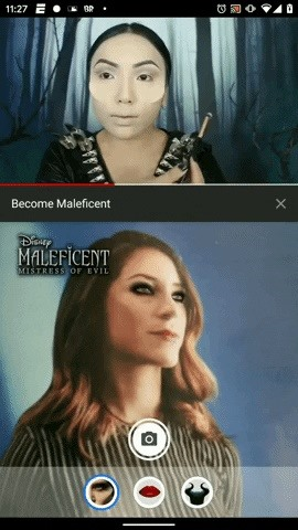 Disney's 'Maleficent' Brings Its Magic to YouTube with Augmented Reality Make-Up Experience