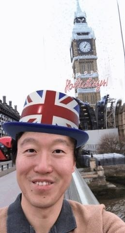 Snapchat Virtually Restores London's Big Ben with Holiday-Themed, Location-Based AR Lens