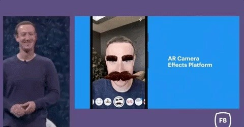 Facebook Brings Its AR Camera Effects to Instagram & Messenger Apps