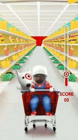 Target Treats Shoppers with Augmented Reality Tricks via Snapchat