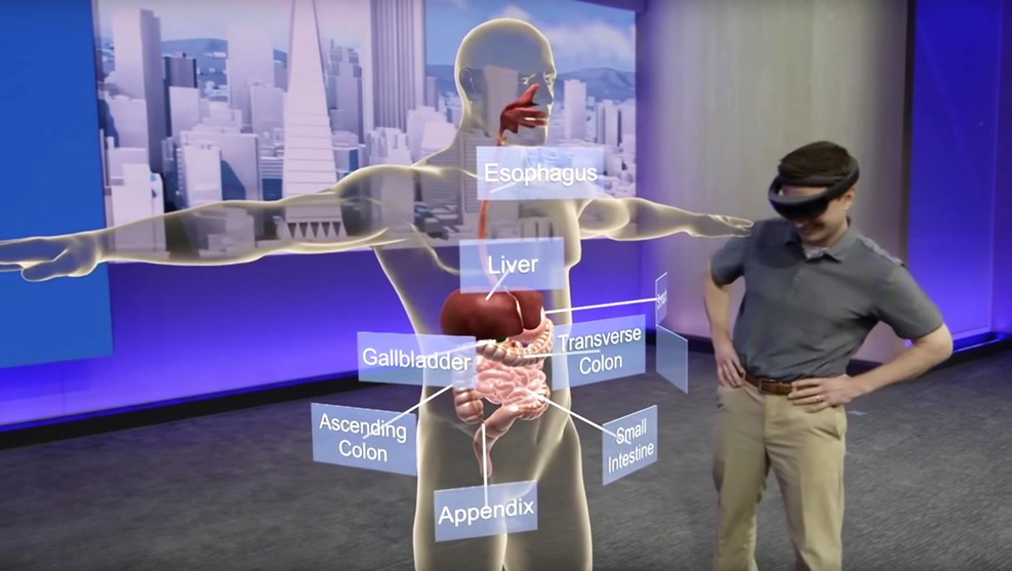 The HoloLens Is Already Teaching Tomorrow's Doctors