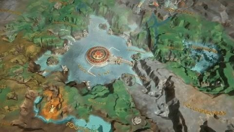 View the Lands You'll Conquer in 'God of War' with Mimir's Vision AR App