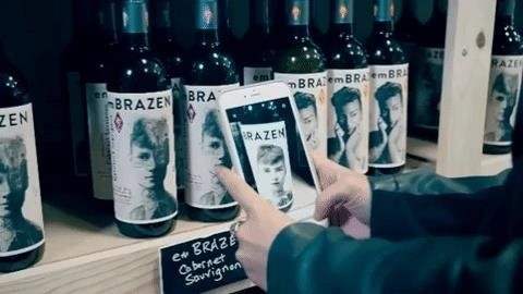 New Line of Augmented Reality-Powered Wines Celebrate Women's Empowerment via Historical Figures
