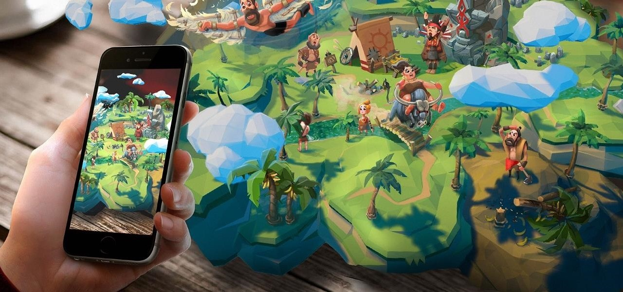 Luden.io Unveils 'AR Tribe' Mobile Game That Uses ARKit