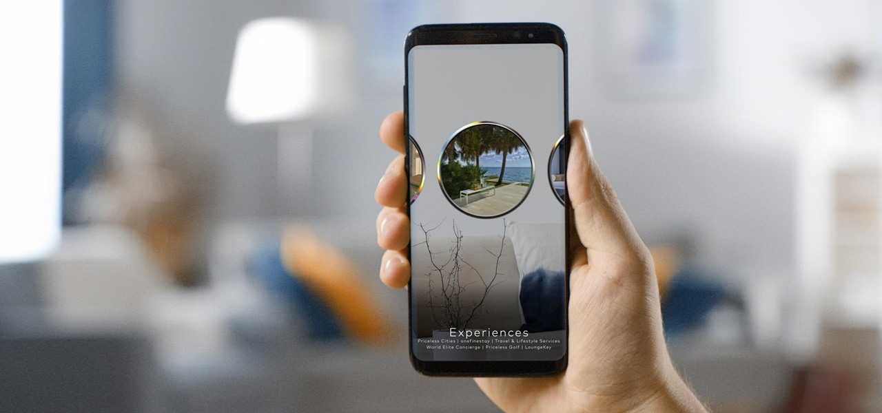 Mastercard Develops Mobile AR App to Explain Rewards & Benefits to Cardholders