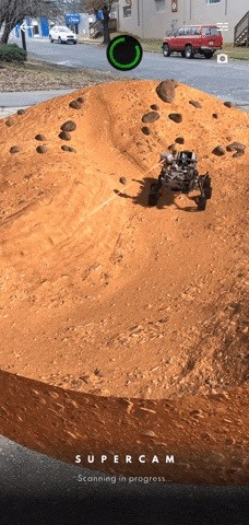 You Can Land & Drive NASA's Perseverance Mars Rover in AR with the Smithsonian Channel's New App
