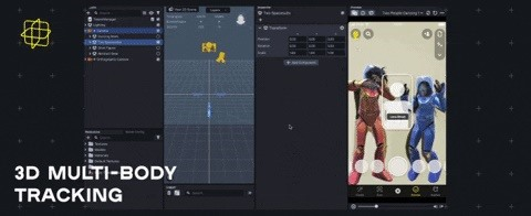 Snap's Lens Studio 3.4 Update Improves Hand & Body Tracking for Snapchat AR Effects & Adds Asset Library