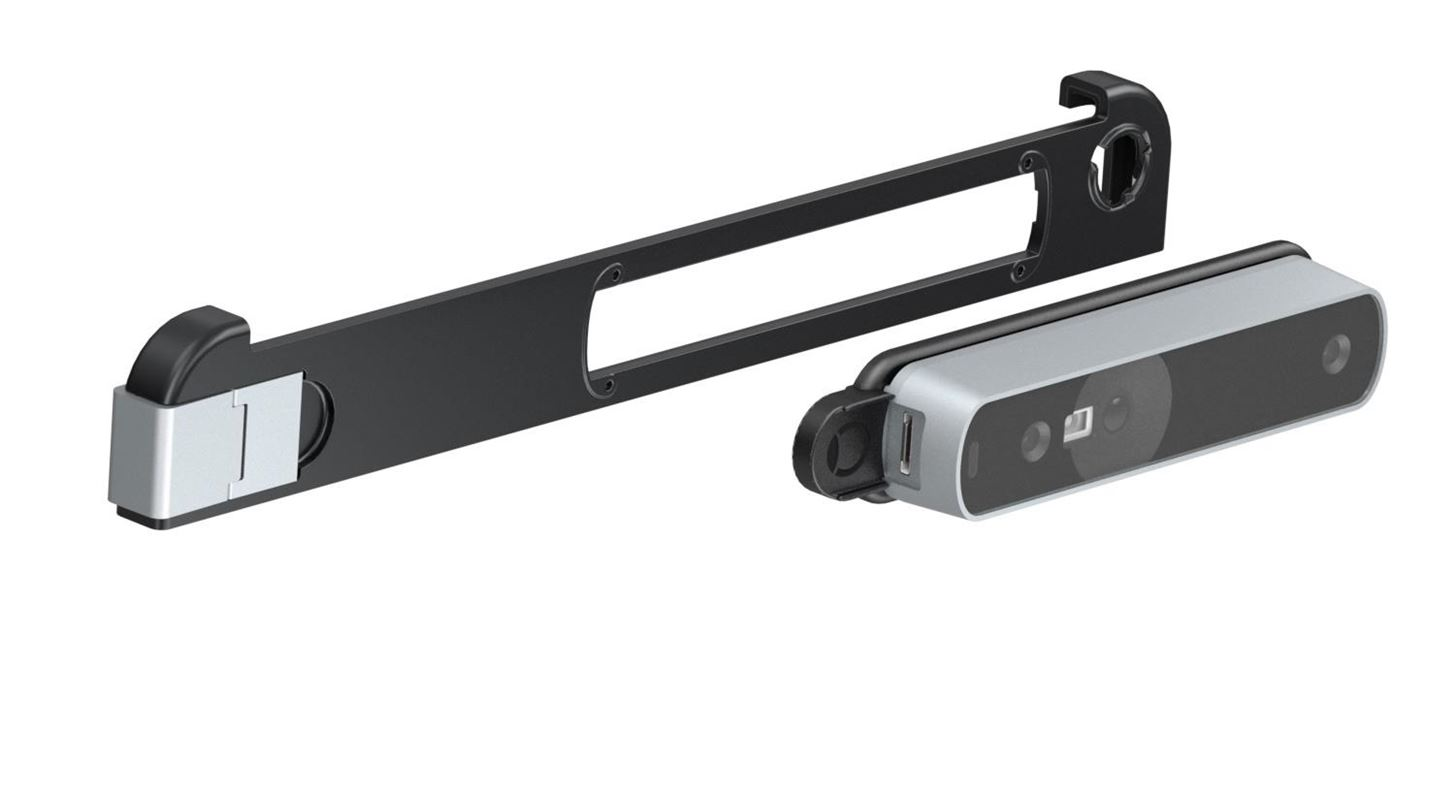 Occipital Updated Structure sensor with active IR stereo depth measurement in the Mark II version