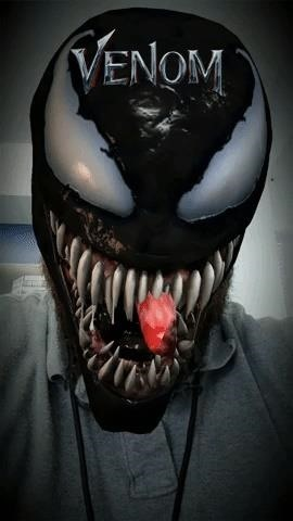 Snapchat & Facebook AR Experiences Let You Unleash Your Inner Anti-Hero & Become Marvel's Venom