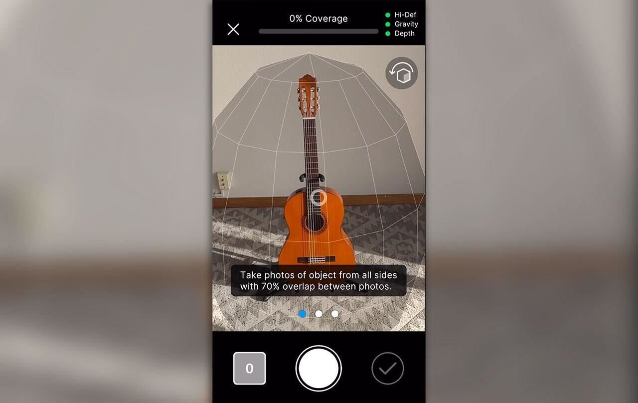 Apple's Object Capture Puts 3D Scanning Market on Notice, but Unity MARS Benefits via New Integration
