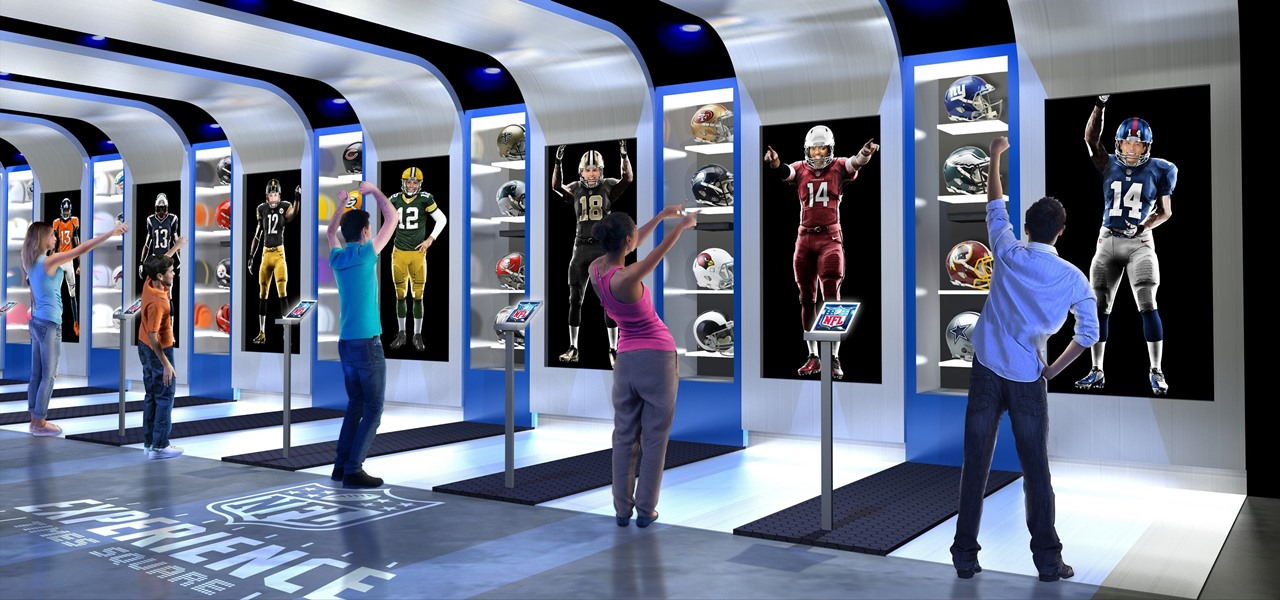 Image result for nfl stores vr/ar