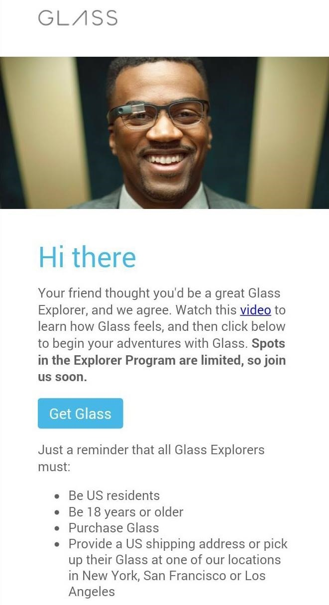 Want to Explore with Google Glass? Now's Your Chance