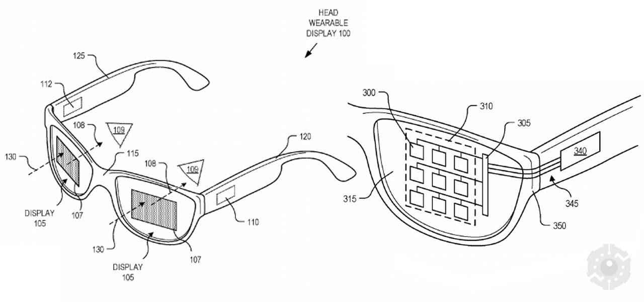 A New Patent Reveals a Light and Stylish Design for The Google Glass