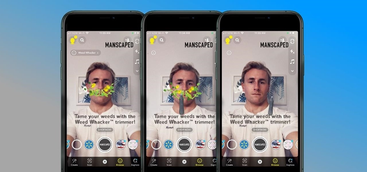 Manscaped's Brand Hype Grows into Augmented Reality via Snapchat Lens